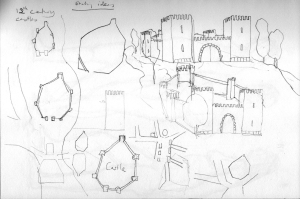 Castle-print-sketch-ideas