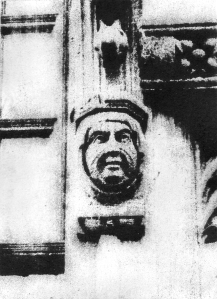 Female gargoyle (Bramall hall)