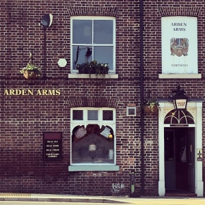 Arden Arms pub exterior, Stockport