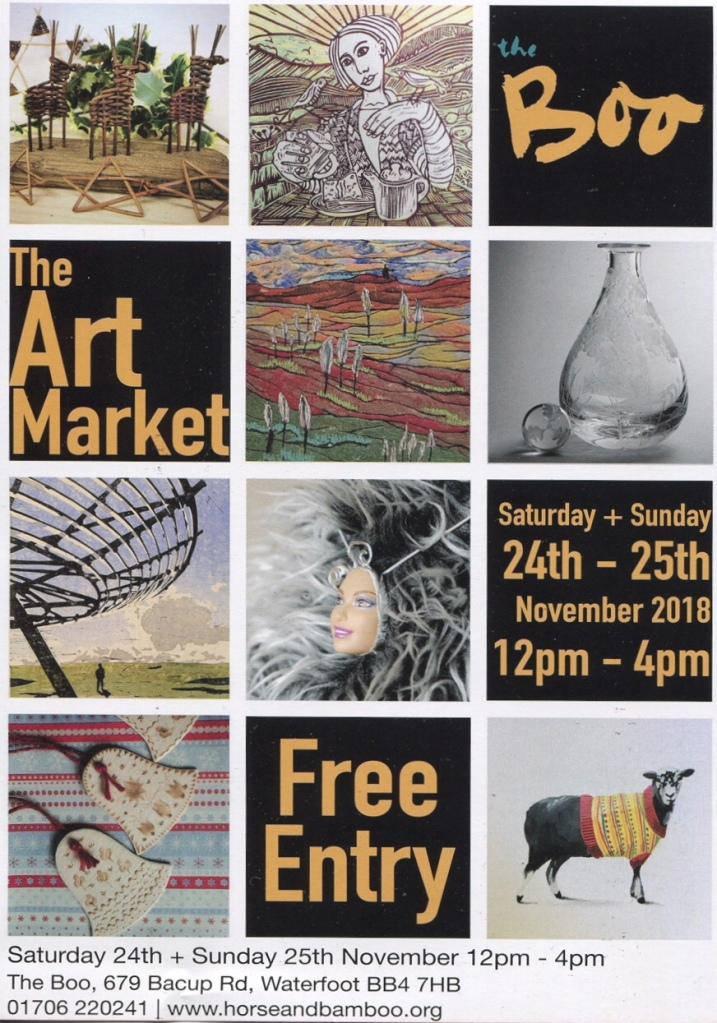 Boo Art Market poster